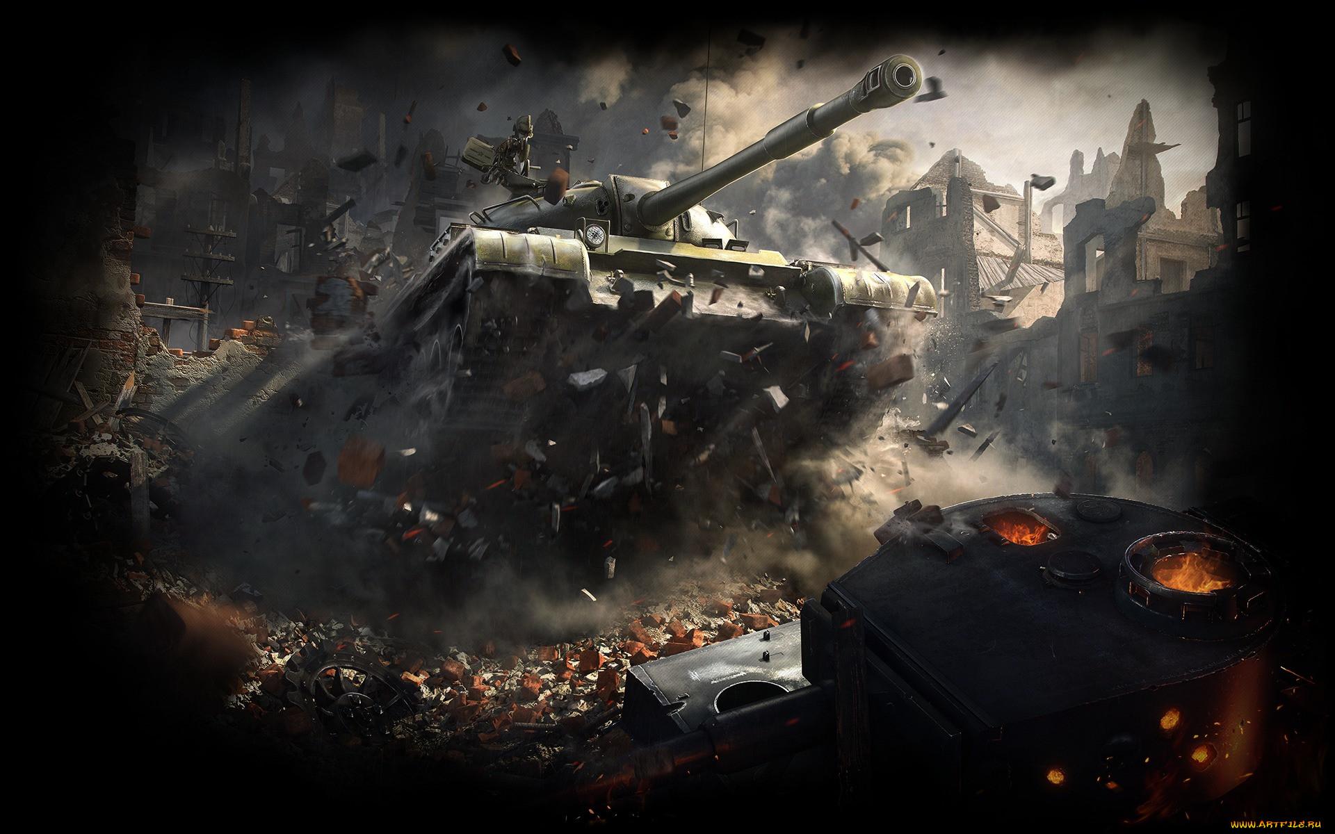Обои дым, World of tanks. Игры foto 17